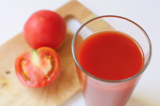 トマト試食